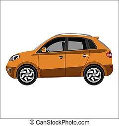 flat car crossover