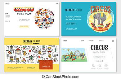 Flat Circus Websites Set