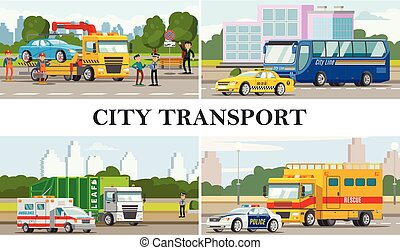 Flat City Transport Composition