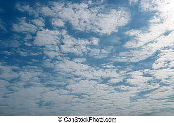 Flat clouds