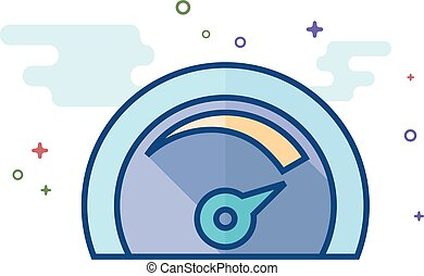 Flat Color Icon - Dashboard