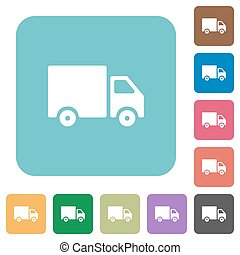 Flat delivery icons