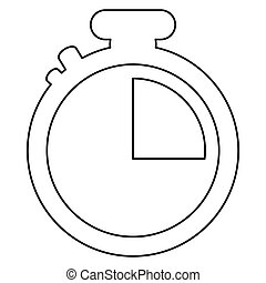 analog chronometer icon