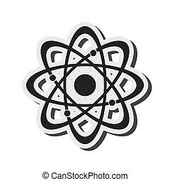 atom structure icon
