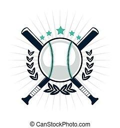 baseball emblem icon