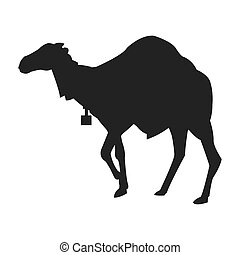 camel silhouette icon