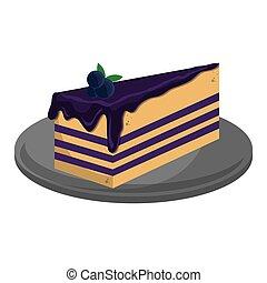 cheesecake slice icon