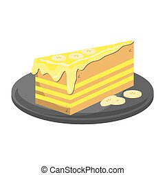 cheesecake slice icon