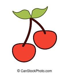 cherry pair icon