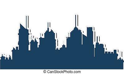 city skyline icon