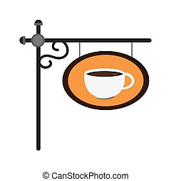 coffee sign icon