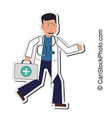 doctor or medic icon