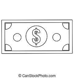 dollar bill icon