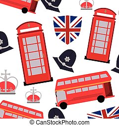 england pattern background icon
