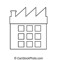 factory building icon