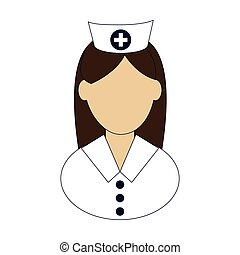 female nurse icon