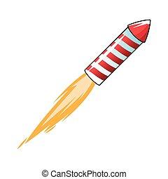 flying firecracker icon