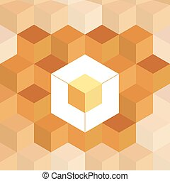 geometrical square pattern background