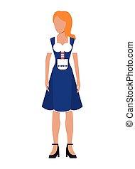 german bavarian woman icon