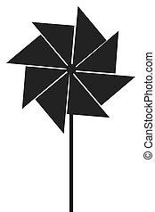 toy pinwheel icon