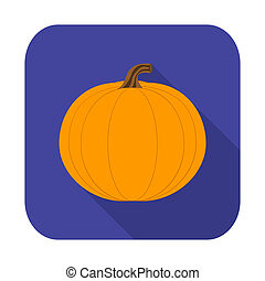 Flat design icon for Halloween