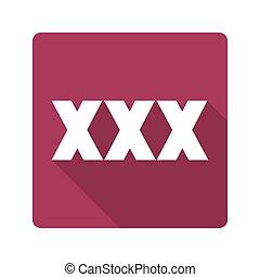Flat design. icon xxx