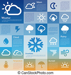 Flat design interface icon set 3  .Illustration eps10