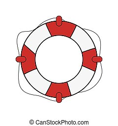life preserver clip art and stock illustrations 4 270 life rh canstockphoto com cartoon life preserver clipart cartoon life preserver clipart