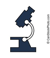 microscope sideview icon