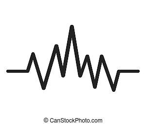 music soundwave icon