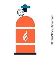 natural gas tank icon