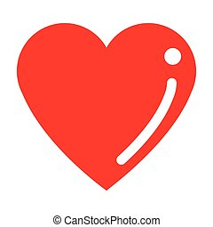 cartoon heart icon