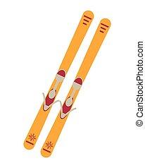 pair of skis icon