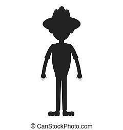 park ranger icon