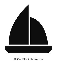 sail boat icon