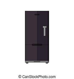 single fridge icon