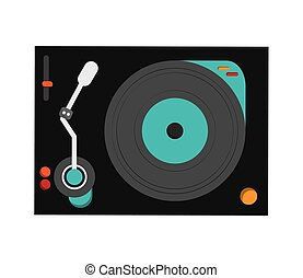 small turntable icon