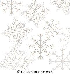 snoflake pattern background