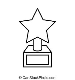 Star Trophy Illustrations And Clipart 9844 Royalty