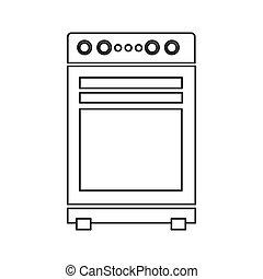 stove oven icon