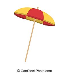 striped parasol icon
