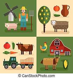 Flat Farm Compositions