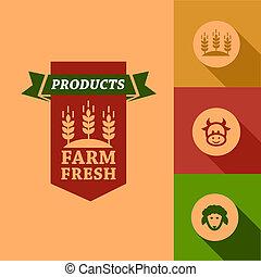 flat farm fresh design
