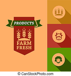 flat farm fresh design