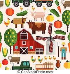 Flat Farm Pattern