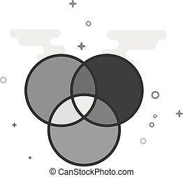 Circle Icon Color Wheels Color Wheels Icon In Flat Color Circle