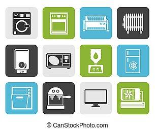 Flat Home electronics and equipment