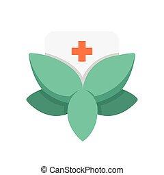 Flat Icon Alternative medicine icon