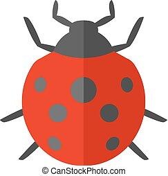 Flat icon - Bug