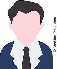 Flat icon - Businessman